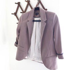 TopShop Soft Mauve Blazer Womens US 2